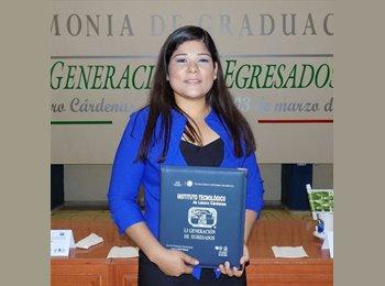 CompartoDepa MX - Alexia - 23 - Querétaro